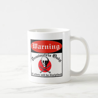Property Of Dominatrix Basic White Mug