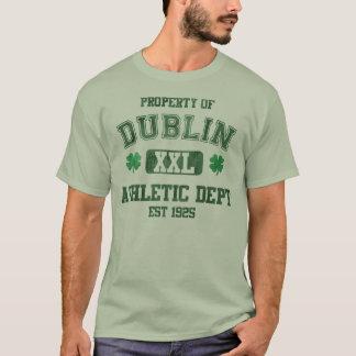Property of Dublin Athletic Department Irish T-Shirt