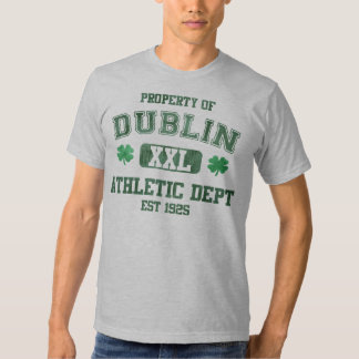 Property of Dublin Athletic Dept Shirts
