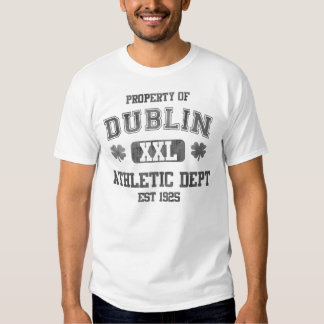Property of Dublin Athletic Dept T-shirts