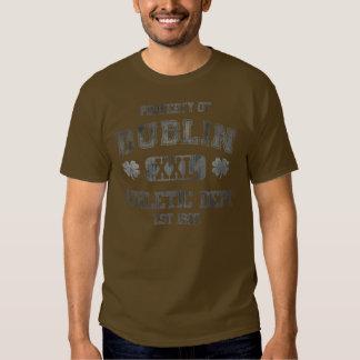 Property of Dublin Athletic Dept Tee Shirt