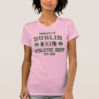 Property of Dublin Athletic Dept T Shirts