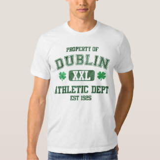Property of Dublin Athletic Dept Tshirts