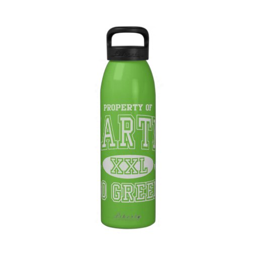 Property of Earth Day Go Green Drinking Bottle