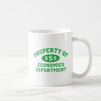Property Of Economics Department Basic White Mug
