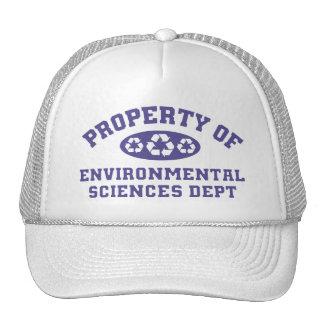 Property Of Environmental Science (purple) Cap