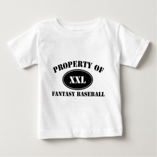 Property of Fantasy Baseball Baby T-Shirt
