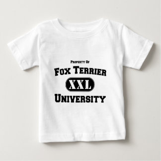 Property of Fox Terrier University Baby T-Shirt