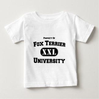 Property of Fox Terrier University Shirt