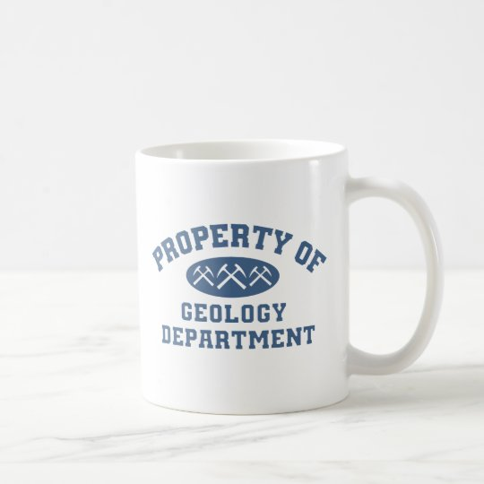 Property Of Geology Department Coffee Mug