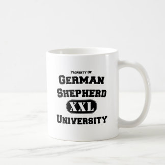 Property of German Shepherd University Basic White Mug