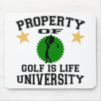 Property Of Golfer University Mouse Pad
