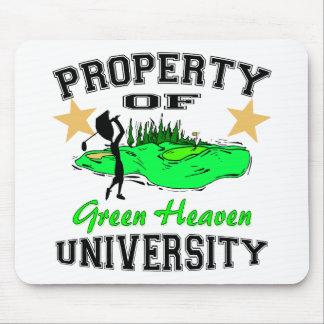 Property Of Golfer University Mouse Pad