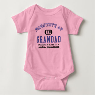 Property of Grandad Baby Bodysuit