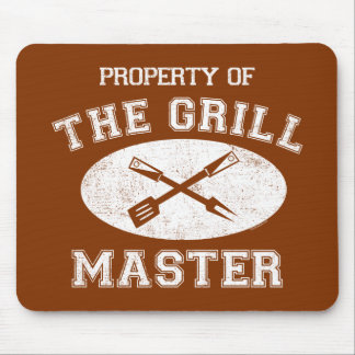 Property of Grill Master Mousepad