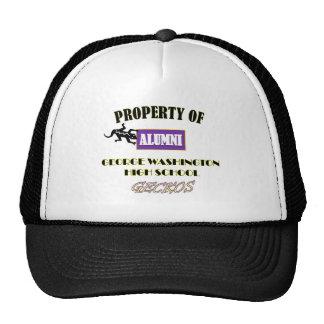 PROPERTY OF GWHS ALUMNI 1 TRUCKER HAT