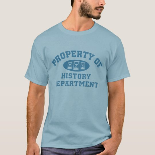 Property Of History Department T-Shirt