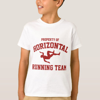 Property Of Horizontal Running Team T-Shirt