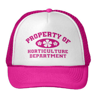 Property Of Horticulture Department Trucker Hat