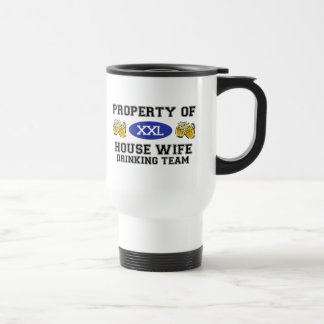 Property of House WIfe Drinking Team Mugs