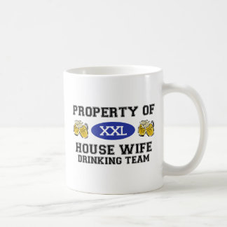 Property of House WIfe Drinking Team Coffee Mugs