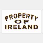 Property Of Ireland Rectangular Sticker