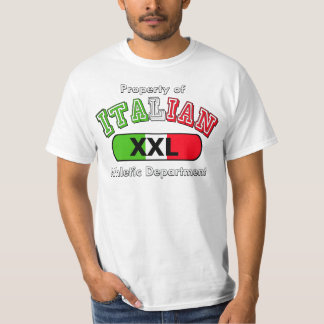 Property Of Italian Athletic Department T Shirt