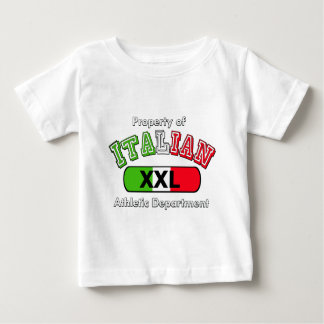 Property Of Italian Athletic Department Tee Shirt