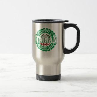 Property of Italian Drinking Team Travel Mug