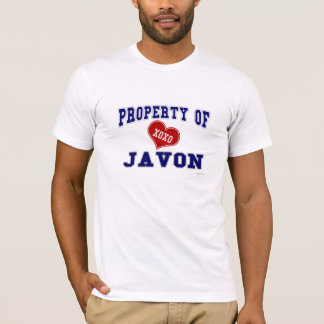 Property of Javon T-Shirt