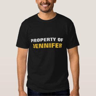 Property of Jennifer T Shirt