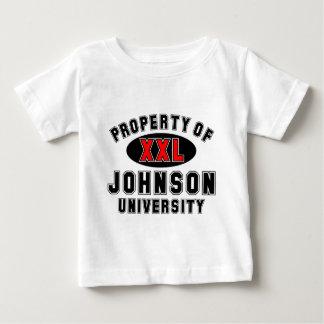 Property of Johnson University Baby T-Shirt