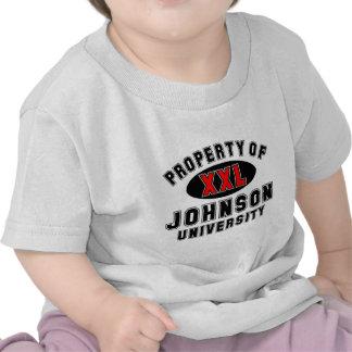 Property of Johnson University Tee Shirts