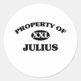 Property of JULIUS Sticker