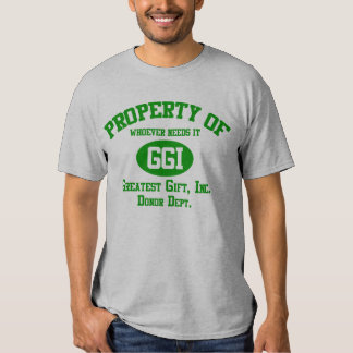Property of... (light) t-shirts