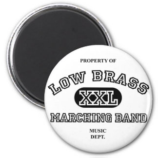 Property of Low Brass Magnets