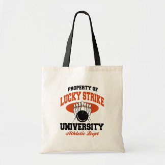 Property of Lucky Strike Bowling Budget Tote Bag