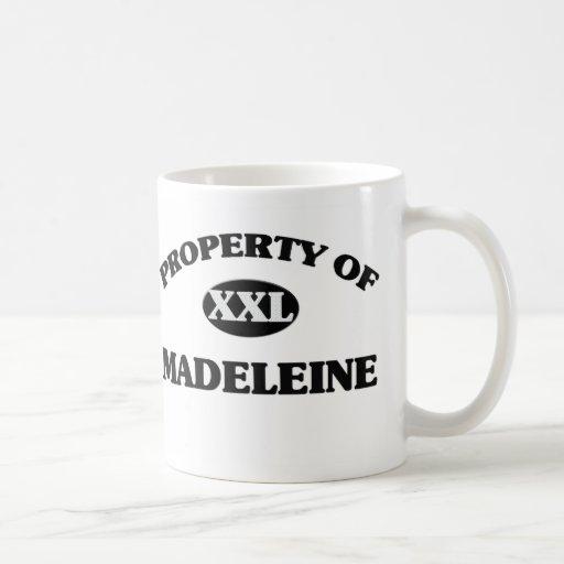 Property of MADELEINE Basic White Mug