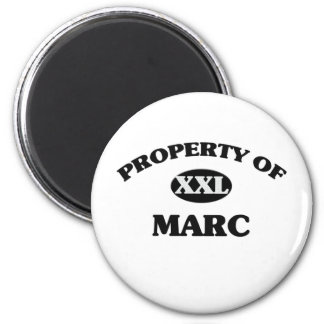 Property of MARC 6 Cm Round Magnet