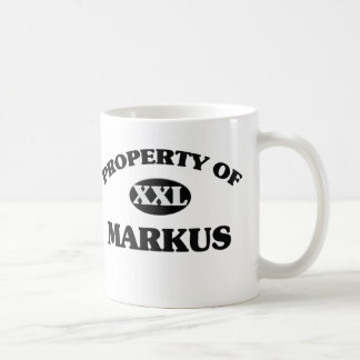 Property of MARKUS Coffee Mugs