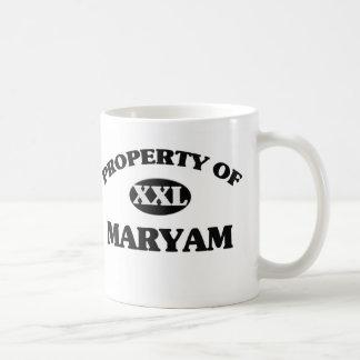 Property of MARYAM Mug