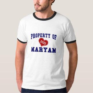 Property of Maryam T-shirts