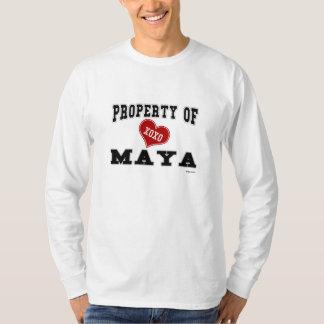 Property of Maya T-Shirt