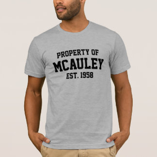 Property of McAuley T-Shirt