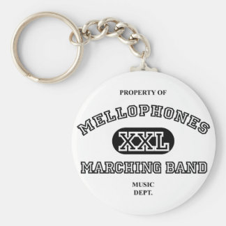 Property of Mellophones Basic Round Button Key Ring