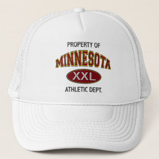 PROPERTY OF MINNESOTA ATHLETIC DEPT. TRUCKER HAT