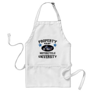 Property Of Motorcycle University Aprons