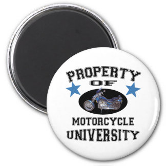 Property Of Motorcycle University Refrigerator Magnets