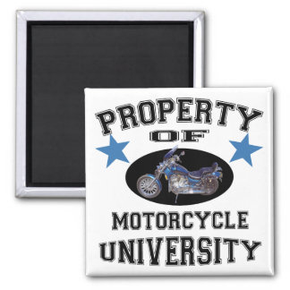 Property Of Motorcycle University Magnets