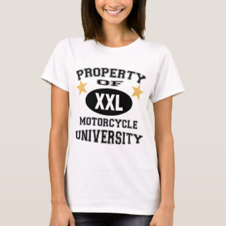 Property Of Motorcycle University T-Shirt